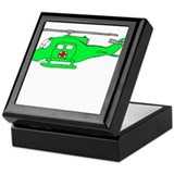 UH-1 Green Keepsake Box