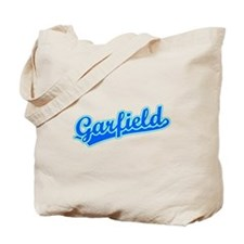 Retro Garfield (Blue) Tote Bag