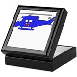 UH-1 Blue Keepsake Box