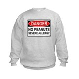 No Peanuts-Severe Allergy Sweatshirt