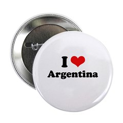"I love Argentina 2.25"" Button"