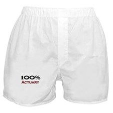 100 Percent Actuary Boxer Shorts