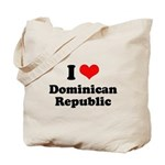 I love Dominican Republic Tote Bag