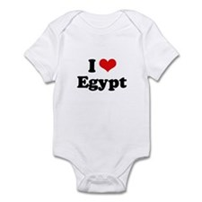 I love Egypt Infant Bodysuit