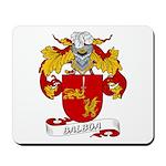 Balboa Family Crest Mousepad