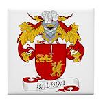 Balboa Family Crest Tile Coaster
