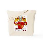 Balboa Family Crest Tote Bag