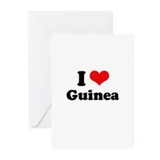 I love Guinea Greeting Cards (Pk of 20)