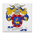Baquero Family Crest Tile Coaster