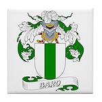 Baro Family Crest Tile Coaster