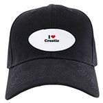 I love Croatia Black Cap