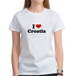 I love Croatia Women's T-Shirt
