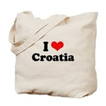 I love Croatia Tote Bag