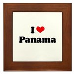 I love Panama Framed Tile