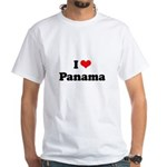 I love Panama White T-Shirt