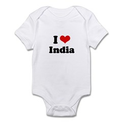 I love India Infant Bodysuit