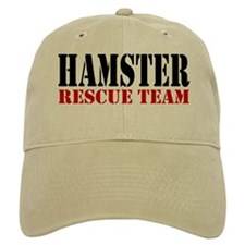 HAMSTER RESCUE TEAM Baseball Cap