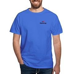 I love Norway Dark T-Shirt