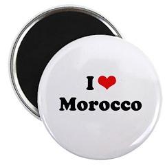 "I love Morocco 2.25"" Magnet (10 pack)"