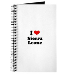 I love Sierra Leone Journal