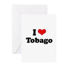 I love Tobago Greeting Cards (Pk of 20)
