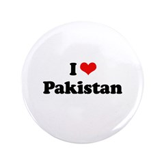 "I love Pakistan 3.5"" Button"