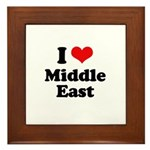 I love Middle East Framed Tile