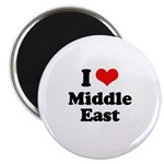 I love Middle East Magnet