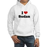 I love Sudan Hooded Sweatshirt