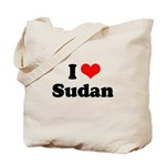 I love Sudan Tote Bag