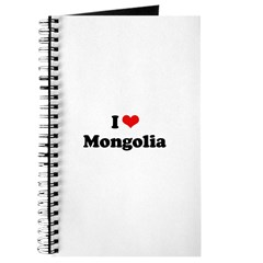 I love Mongolia Journal