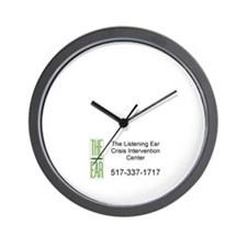 Funny Sexual assault prevention Wall Clock