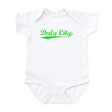Vintage Daly City (Green) Infant Bodysuit