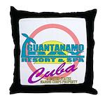 Guantanamo Bay (Gitmo) Throw Pillow