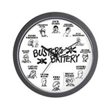 Busters Battery Clock