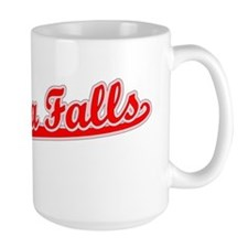 Retro Niagara Falls (Red) Mug