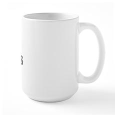 I Love [Heart] Fat Boys Large Mug