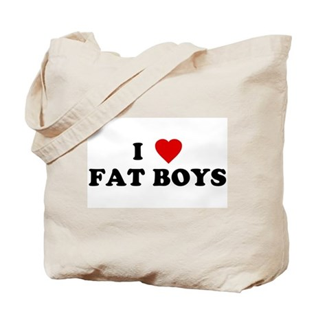 I Love [Heart] Fat Boys Tote Bag