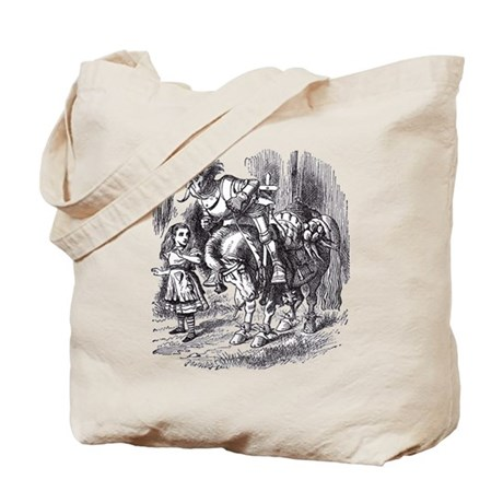 Falling Off Tote Bag