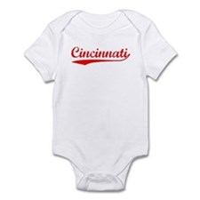 Vintage Cincinnati (Red) Infant Bodysuit