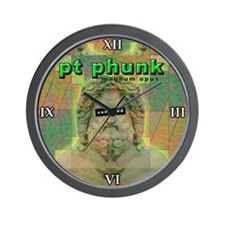 Phunk Wall Clock