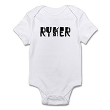 Ryker Faded (Black) Infant Bodysuit