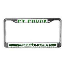 Phunk License Plate Frame