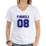 Finnell 08 Women's V-Neck T-Shirt