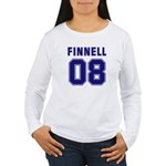 Finnell 08 Women's Long Sleeve T-Shirt