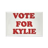 Vote for KYLIE Rectangle Magnet