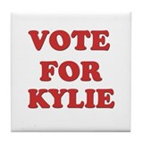 Vote for KYLIE Tile Coaster