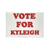 Vote for KYLEIGH Rectangle Magnet