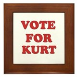 Vote for KURT Framed Tile
