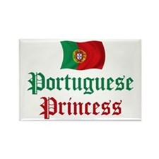 Portuguese Princess 2 Rectangle Magnet